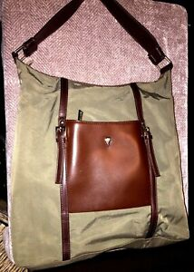 Lancaster Paris Nylon Purse Handbag