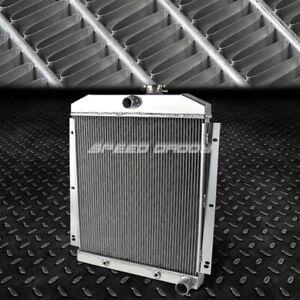 FOR 47-54 CHEVY TRUCK SUBURBAN L6 FULL ALUMINUM 3-ROW RACING COOLING RADIATOR