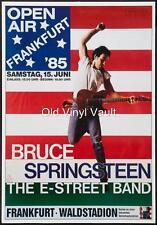 Bruce Springsteen-Frankfurt Open Air 1985 Konzert Poster