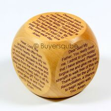 """Reconciliation Prayer Cube (6 Prayers) Religious Item 1 5/8"""" Act of Contrition"""