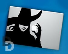 Wicked Macbook decal / Vinyl Laptop sticker / Wicked stencil decal