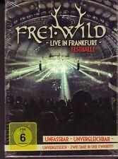 """FREI.WILD """"Live in Frankfurt Festhalle LIVE"""" 2 CD + 2 DVD BOX-Set versiegelt"""