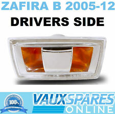 VAUXHALL ZAFIRA B NEW SIDE REPEATER INDICATOR LENS DRIVERS OFF SIDE OFFSIDE