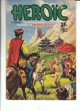 Héroïc n°62 - Editions SAGE 1952 - TBE