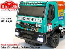 EZRL012 IVECO TRAKKER EVO2 CAMION AUTOMODELLISMO RADIOCOMANDATO XRAY RALLY EZ