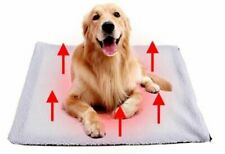 Super Soft Faux Fur Self Heating Dog Cat Bed Pad Blanket Warming Thermal Small