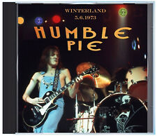 HUMBLE PIE, LIVE at Winterland (San Francisco), 5.6.1973, on CD