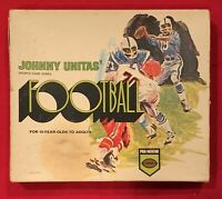 Vintage 1969 Johnny Unitas Signed Football Board Game Early Baltimore Colts JSA