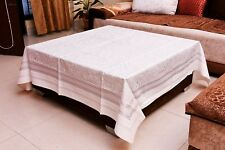 """Square Tablecloth Table Cover Paisley Kitchen Wedding Banquet Dining Party 58"""""""