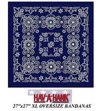XL extragrande Super Grande Azul Marino paisley bandana 68.6cmcotton Bufanda
