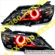 ORACLE Headlight HALO KIT  RINGS for Chevrolet Impala 14-17 RED LED Projector