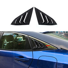 2x Door Triangle shutter Window Shades Decoration Cover For Honda Civic 16-2017
