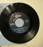 GEORGE JONES i always get lucky with you /i'd rather have what we had EPIC   45