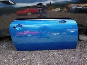 Mini Cooper R50 R53 2001 - 2006 Drivers Door Panel A28 Hyper Blue Metallic