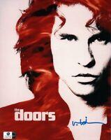 Val Kilmer Signed Autographed 8X10 Photo The Doors Movie Poster Jim Morrison GA