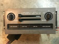 91 92 93 1992 CHEVROLET CAPRICE CLIMATE CONTROLS W/ WARNING LIGHTS