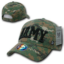 ARMY Camo Camouflage Military ACU Digital Cap Caps Hat Hats