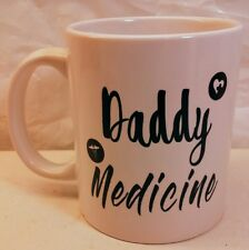 New listing Daddy Medcine Fathers Day Coffee Mug Cup Funny.Free Shipping