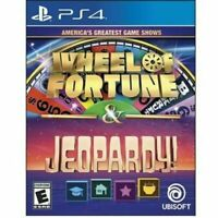 America's Greatest Game Shows: Wheel of Fortune & Jeopardy! (PS4, Playstation 4)