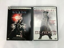DVD Lot Blade and Blade II
