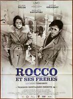Plakat Rocco Und Ses Freres Luchino Visconti Alain Delon Annie Girardot 120x160