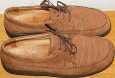F8R999 Down To Earth Femmes Bout Rond Daim Cuir à Lacets Plates Décontracté Chaussures