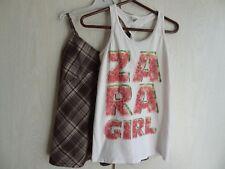 Lot de 2 T-shirts débardeurs à bretelles, 9-10ans - Zara & Bilook