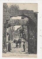 Fuenterrabia Antigua Puerta de Sn Nicholas Spain Vintage Postcard 894a