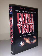 FATAL VISION DVD 1984 Original TV  Miniseries Part 1 and 2