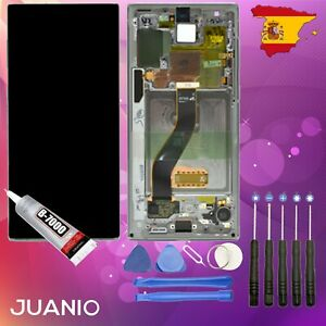 "Vidrio táctil + LCD  para Samsung Galaxy Note 10 SM-N970F 6.3"" Aura Resplandor"