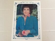 Jane Wyman SIGNED 8 x 10 Photo   Falcon Crest 1980s