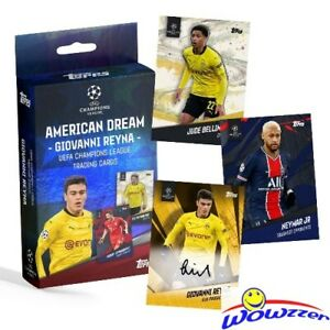 2021 Topps Gio Reyna American Dream Factory Sealed Box w/HAALAND- Look for AUTO