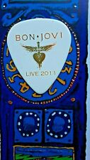BON JOVI Richie Sambora Live 2011 MISPRINT white guitar pick