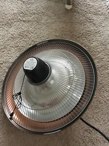 New Unused Firefly Electric Patio Heater Ceiling Mounted Copper