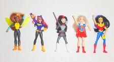 McDonalds 2016 DC Super Hero Girls Mini Doll Lot Set Figures Happy Meal