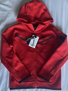 Nike Tech Fleece Jacket Kids Zipper Hoodie CU9223 657. Youth Size: Small