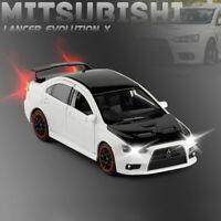1/32 Mitsubishi Lancer Evo X Model Car Diecast Toy Vehicle Collection Gift White