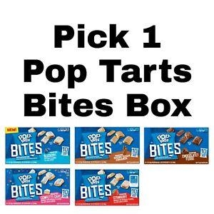Pick 1 Kellogg's Pop Tarts Tasty Filled Bites Pop-Tarts Box 10 Pouches Inside
