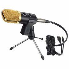 ELEGIANT Portable Mic Audio Dynamic USB Condenser Sound Recording Vocal Micro...