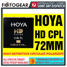 Genuine HOYA HD High Definition Density Circular Polarizer CPL 72mm EXPRESS POST