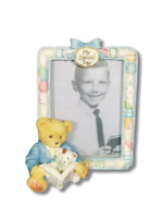 Enesco P. Hillman My Special Day Cherished Teddies Teddy Bear Boy Picture Frame
