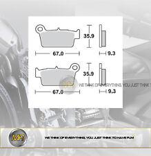 FANTIC MOTOR CABALLERO COMPETIZIONE 50 2006 - 2009 PASTIGLIE FRENO POSTERIORI BR