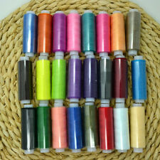 Good Mixed Colors Polyester Spool Sewing Thread For Hand Machine Set #JK
