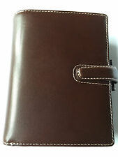 Filofax Pocket Cuban Brown