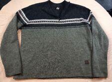 Vintage Sims Sweater Men's large Made in USA Fishing Hiking