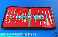Dissecting Micro Dissection Kit Set Bio Student Lab Tool Teachers Choice-ODM-595