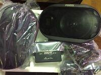 Fostex RP1 Car Speaker 2WAY Pair RP Planar Tweeter Carbon Fiber Woofer Japan