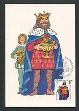 GUERNSEY MK 1985 WEIHNACHTEN CHRISTMAS NAVIDAD CARTE MAXIMUM CARD MC CM d9168