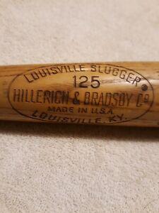 LOUISVILLE SLUGGER 125 / KEN HARRELSON- HILLERICH & BRADSBY USA- 35 INCH