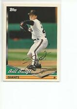 BILL SWIFT Autographed Signed 1994 Topps card San Francisco Giants COA